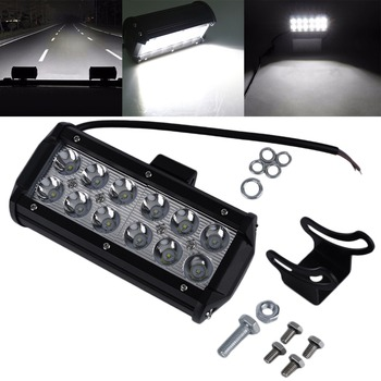 1 pz 7 Pollici 36 W LED Work Light Bar per Indicatori del Motociclo di Guida Offroad Barca Auto Camion Del Trattore 4x4 SUV ATV Flood