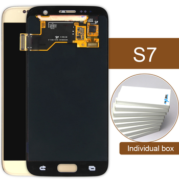 10 pz alibaba cina dhl screen display lcd con touch digitizer assembly per samsung galaxy s7 g930a g930t g930p g930v