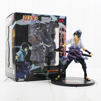 19 cm nuovo arrivo megahouse gem naruto shippuuden uchiha sasuke pvc action figure collection model toy spedizione gratuita