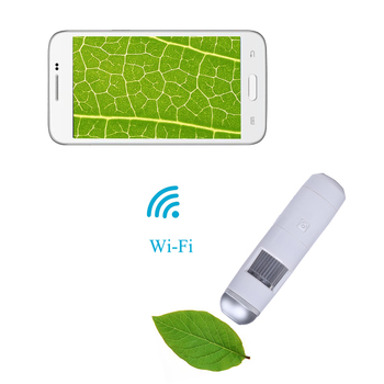 200x microscopio digitale wifi 8led 5x-200x hd wireless microscopio biologico per iphone/ipad/android/ios magnifier lenti di ingrandimento
