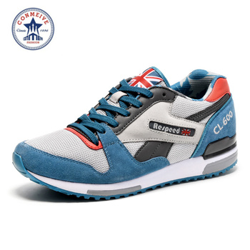 2016 vendita campo duro medio (b, m) runningg scarpe nuovi uomini sneakers uomo genuino sport all'aria aperta run flat walking jogging trendy