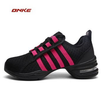 2017 Height Increasing Shoes Woman Dancing Damping Outside Running Sports Shoes Light Weight Popular Lady Footwear ONKE Brand