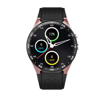 2017 hot imax kw88 android 5.1 os smart watch 1.39 pollice 400*400 supporto 3G wifi del telefono SmartWatch nano SIM WCDMA Frequenza Cardiaca