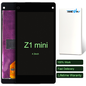 30 pz nuovo z1 mini lcd per sony xperia z1 mini compact d5503 m51w display lcd + touch screen digitizer assembly