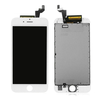 5PCS New Outer LCD Display Touch Screen Digitizer Assembly for iPhone 6S 6Splus +frame+Front camera+button+ free DHL
