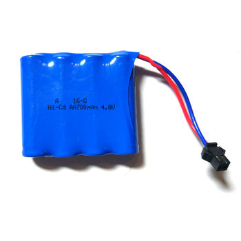 Batteria 4.8 V 700 mAh Spina SM Per HB P1801 RC Auto 2.4G Rock Crawler Auto 4 WD Monster Truck 1:18 Off-Road veicolo