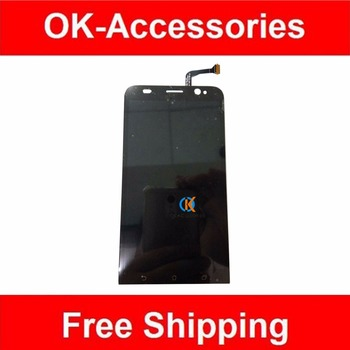 Colore nero per zenfone 2 ze500kl ze550kl ze500cl ze550ml zd551kl display lcd + touch screen digitizer assembly 1 pz/lotto