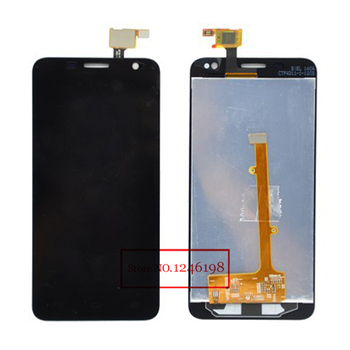 Di alta qualità lcd full display touch screen digitizer assembly per alcatel one touch mini idol 6012 ot6012 ot6012d spedizione gratuita