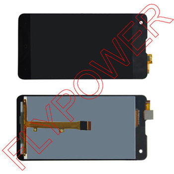 Di garanzia per highscreen omega prime s lcd full screen display + digitizer touch assemblea di vetro da trasporto libero