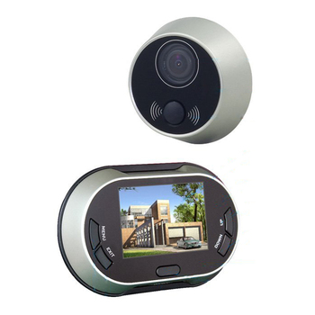 "DSHA New Hot 3.5 ""TFT Digital Video Campanello Citofono Peephole Viewer Lente AutoTake Foto non Disturbare La Funzione"