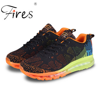 Fires nuovi uomini di estate runningg scarpe mesh traspirante walking sneakers outdoor maschio nero athletic scarpe sportive scarpe da jogging