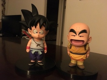Funko pop mini anime dragon ball son goku piccolo freezer Shahrukh Vegeta Vinile PVC Action Figure Collection Modello IN PVC Per Bambini giocattoli