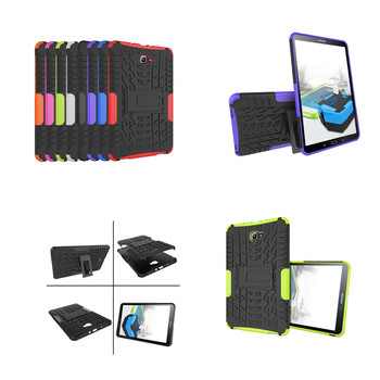 Heavy duty antiurto rugged case hybrid armatura full body protettiva cover per samsung galaxy tab a 10.1 a6 t580n sm-t580 T585C