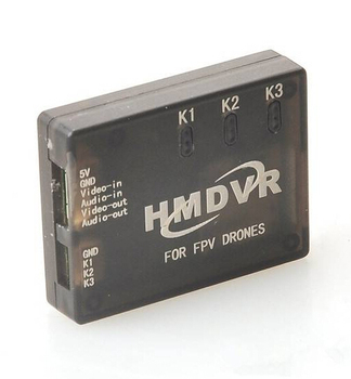 Hmdvr mini registratore dvr video audio recorder per fpv droni qav multicopters spedizione gratuita