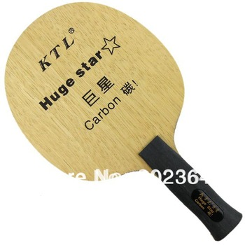 Ktl enorme stella ping-pong carbon lama (an handdle) per ping pong racchetta