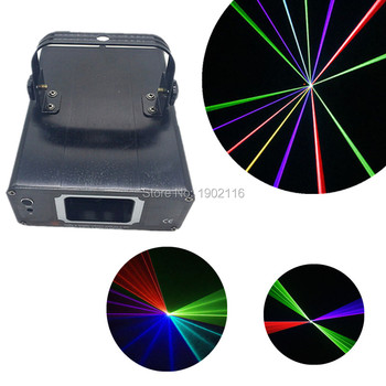 Led fascio laser show proiettore dmx 512 mini rgb full color Laser Stage Lighting Scanner DJ KTV Del Partito di Ballo Mostrano Proiettore Luci