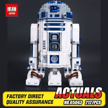 Lepin 05043 nuovo 2127 pz vera star series guerra la r2-d2 Robot Set Out of print Building Blocks Mattoni Giocattoli Educativi 10225