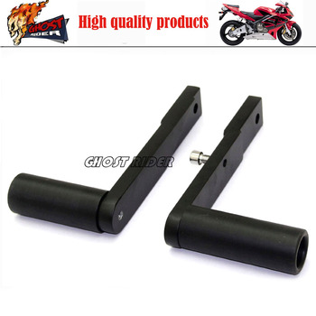 Moto da corsa no cut crash pads carena protezioni telaio slider nero fit for 2009-2012 honda cbr 600rr