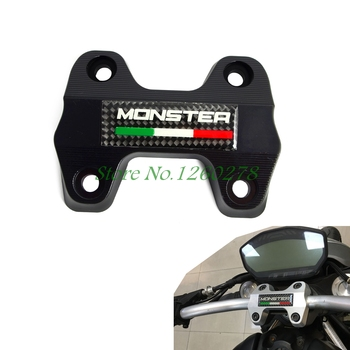 Moto Manubrio Morsetto Staffa Superiore Per Ducati Monster 821 DARK 2016 Motocross Enduro Supermoto Dirt Bike