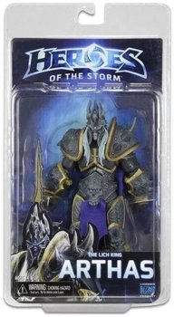 NECA Heroes of The Storm Il Re Dei Lich Arthas Action PVC Figure Da Collezione Toy Model 18 cm