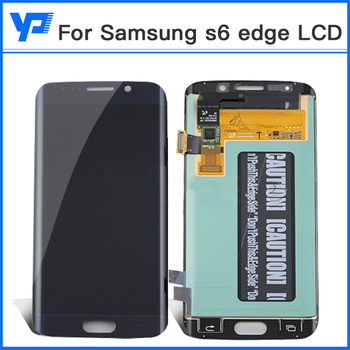 Originale di Per Samsung S6 Bordo G925 G925S G925F Screen Display LCD Con Touch Digitizer Assembly DHL LIBERA il Trasporto