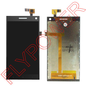 Per elefono P2000C mtk6582 display lcd touch screen digitizer assemblea nero da trasporto libero