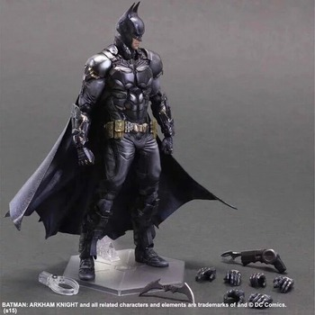 Playarts kai batman arkham cavaliere set pvc modello action figure doll toy per la raccolta