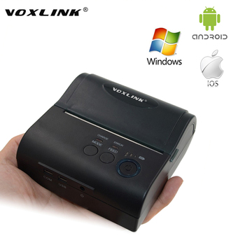 Protable 80 MM Thermal Receipt Printer Bluetooth, Stampante Wireless Bluetooth per IOS Android di Windows