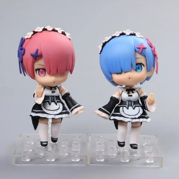 Re: Vita In Un Mondo Diverso Da Zero Rem #045 di Ram #046 Nendoroid Doll PVC Action Figure Da Collezione Model Toy 11 cm KT3644