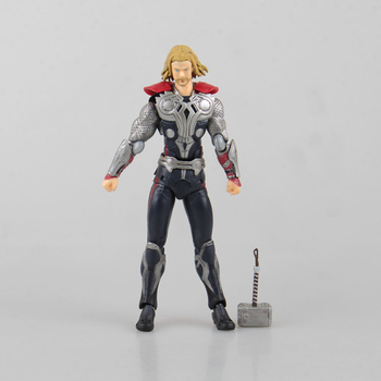 Ruolo in un film Marvel Avengers Age of Ultron THOR PVC Figure Collection Toy 14 cm Figma216 # giunto Mobile