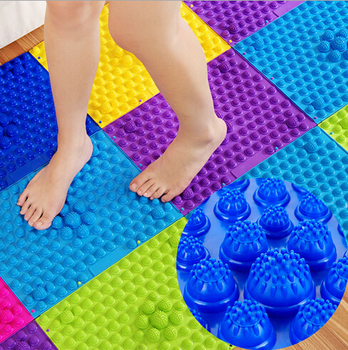TPE Explosion Pebbles Foot Massager Yoga Mat Health Care Acupressure Massage Cushion Relaxing Muscles Enhance Blood Circulation