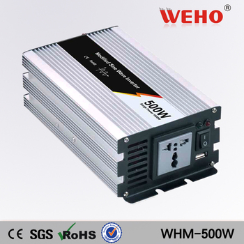 (WHM500-122) presa di Fabbrica Onda Sinusoidale Modificata power inverter 500 w 12 v 220 v